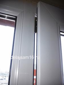 Как отрегулировать окно своими руками