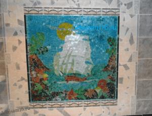 мозаика из стекла