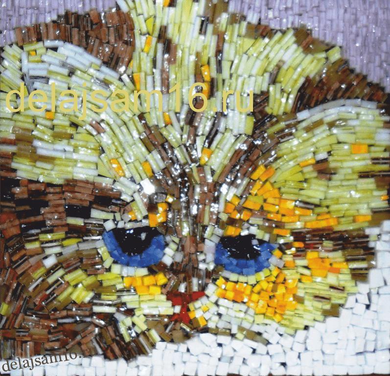 Мастер класс мозаика из стекла своими руками 14