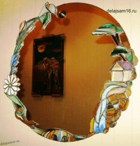 обрамление зеркала