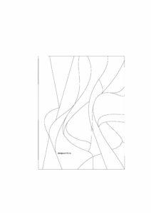 эскиз абстракция