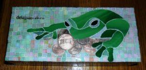 шкатулка-кошелёк для привлечения денег