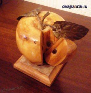 как сделать яблоко своими руками
