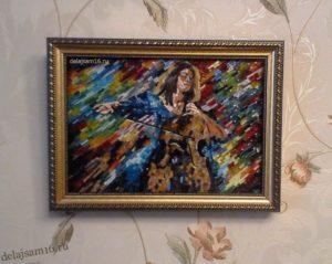 мозаика картина