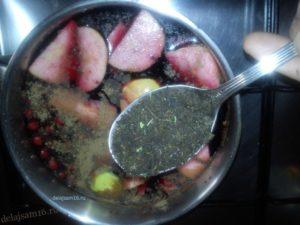 иван-чай  (глинтвейн)