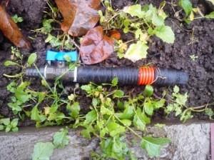 труба для водопровода на даче