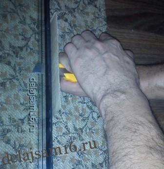 Замена стеклопакета своими руками Строительный портал