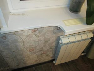 подоконник мешает открываться холодильнику