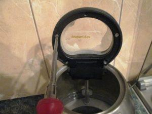 разобрать крышку чайника