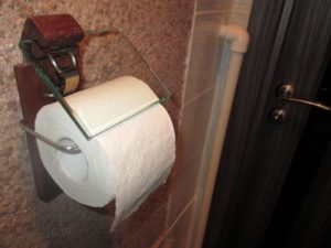 эксклюзивный держатель для туалетной бумаги
